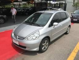 Fit 1.4 LXL 8v Gasolina Automático Prata 2008 - Troco e Financio - 2008