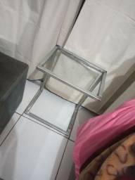 Parador em ferro galvanizado e vidro