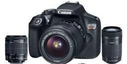 Câmera Cânon Rebel T6