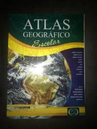 Livro atlas geográfico