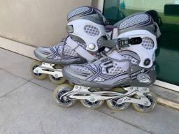 Vendo patins roller Fila - Estado de novo - Adulto