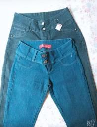 Vendo calças femininas novas tamanho 40, mais informações em *91