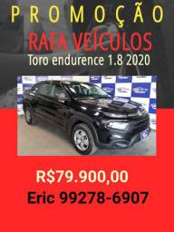 Toro 1.8 automático 2020 com R$ 1.000,00 de entrada Rafa Veiculos - Eric -yyt650
