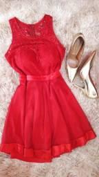 Lindíssimo vestido vermelho pra VENDER logo 150,00