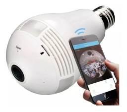 Lâmpada espiã lâmpada câmera