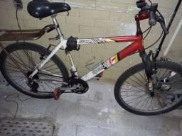 Montan bike 21 velocidades c amortecedores dianteiros aro 26