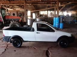 Fiat Strada branco  2008