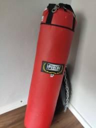 Saco Pancada boxe Punch 1.20 m altura
