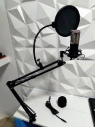 Kit Microfone Profissional BM800