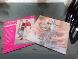 Título do anúncio: Kit disco Madona e Elton/Madona