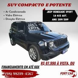 Título do anúncio: Jeep Renegade Sport 1.8 só R$ 87.990 à vista, financio em até 60x