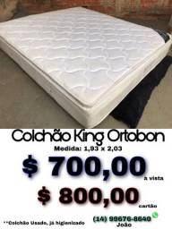 Título do anúncio: Colchão king