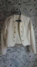 Jaqueta branca (M)