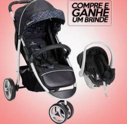 Título do anúncio: Carrinho para Bebê Berço-passeio 3 Rodas Apollo Galzerano