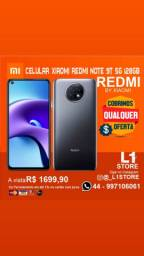 Celular Xiaomi Redmi Note 9T 5G 128Gb V. Global