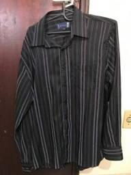 Camisa Social tamanho G - Semi Nova