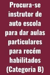 Título do anúncio: Procura-se instrutor de auto escola