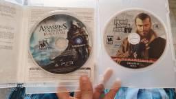 Dois jogos PS3 estado de novo