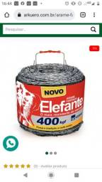 Título do anúncio: Vem arame farpado  elefante.  Valor 400
