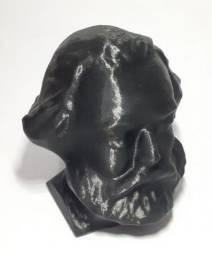 Busto decoração Karl Marx em Impressão 3D - Manifesto comunista