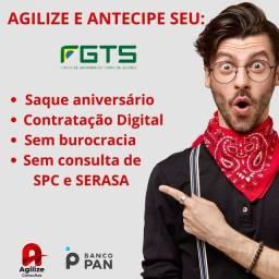 Título do anúncio: Antecipe até 5 anos do seu saque aniversário FGTS.
