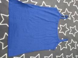 Título do anúncio: Blusa Regata Azul