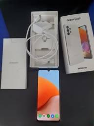 Título do anúncio: Samsung Galaxy A32 128GB Branco novo com garantia, nota fiscal, na caixa com acessórios