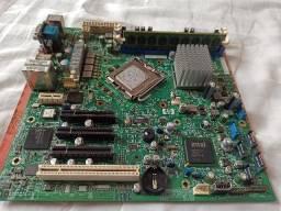 Placa mãe HP + processador Xeon Quad + 2GB de memória
