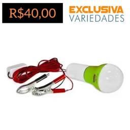 Lâmpada Pendente Emergência Automotivo Camping 12V + Entrega Grátis