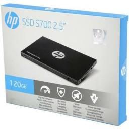 Título do anúncio: SSD HP 120GB, SATA, Novo, lacrado de Fábrica, original, entregamos