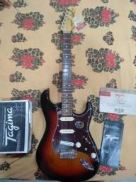 Guitarra Stratocaster Tagima Brasil T805 Sunburst Regulada! Usada apenas 3 vezes.