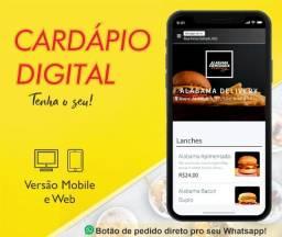 Título do anúncio: Cardápio digital