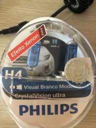 Lâmpada H4 Philips super branca