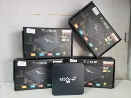 Tv Box + 30 dias de Programação Transforme Sua Tv Normal Em Super Smart Tv  R$199,00
