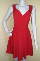 Título do anúncio: Vestido vermelho social tamanho P