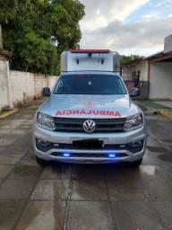 Título do anúncio: Ambulancia 4x4 Amarok 2019 UTI MOVEL