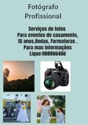 Título do anúncio: Fotógrafo Profissional