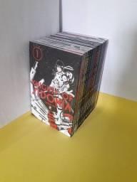 Título do anúncio: Mangá Knights of Sidonia Coleção Completa 15 Volumes - Editora JBC