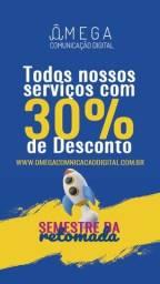 Título do anúncio: Desenvolvimento de Sites com 30% de desconto