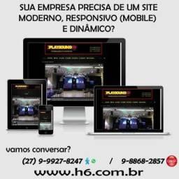 Título do anúncio: Sua empresa precisa de um site moderno, responsivo (mobile) e dinâmico?