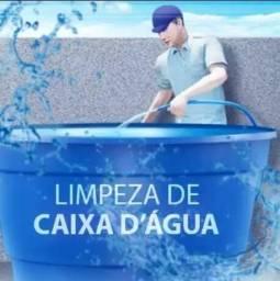 Título do anúncio: Limpeza de Caixa D'Água e Cisterna