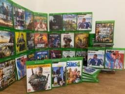 Título do anúncio: Vários jogos/ Xbox one e series