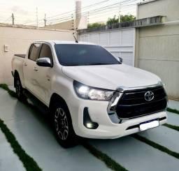 Título do anúncio: Toyota Hilux 2021 blindada flex
