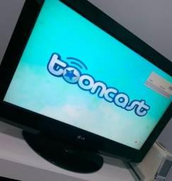 Título do anúncio: TV LCD LG 32 (BAIXEI) zerada c/ base giratória