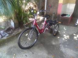 Bicicleta Triciclo Rebaixada Com Marchas Aro 26