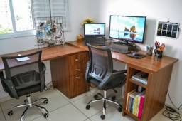 Título do anúncio: Conjunto escrivaninha escritório
