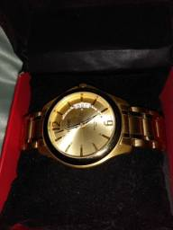 Vendo relógio Orient original dourado