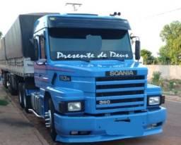 Título do anúncio: Scania 113 Top Line 6x2 Engatado Conjunto