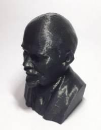 Busto Decoração Vladimir Lenin Urss União Soviética