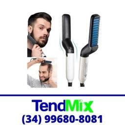 Título do anúncio: Prancha Chapinha Masculina Cabelo e Barba